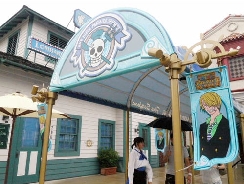 This Restaurant Represents Sanji The Straw Hat Pirate Chef From Popular Anime Series One