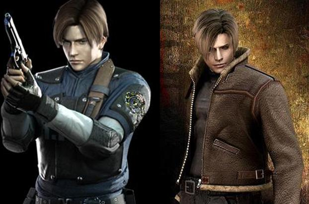 Leon Kennedy And Chris Redfield Playable In The New Resident Evil