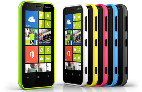 Nokia Lumia 620 colors