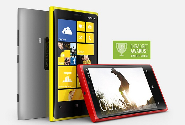 Nokia Lumia 920 design