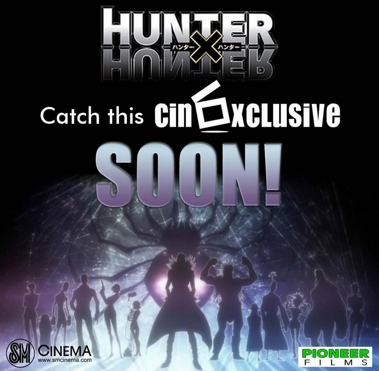 hunter x hunter movie SM cinema