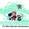 December contest to win a Naruto Costume