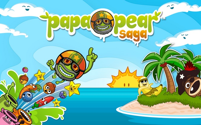 Papa Pear Saga game for android